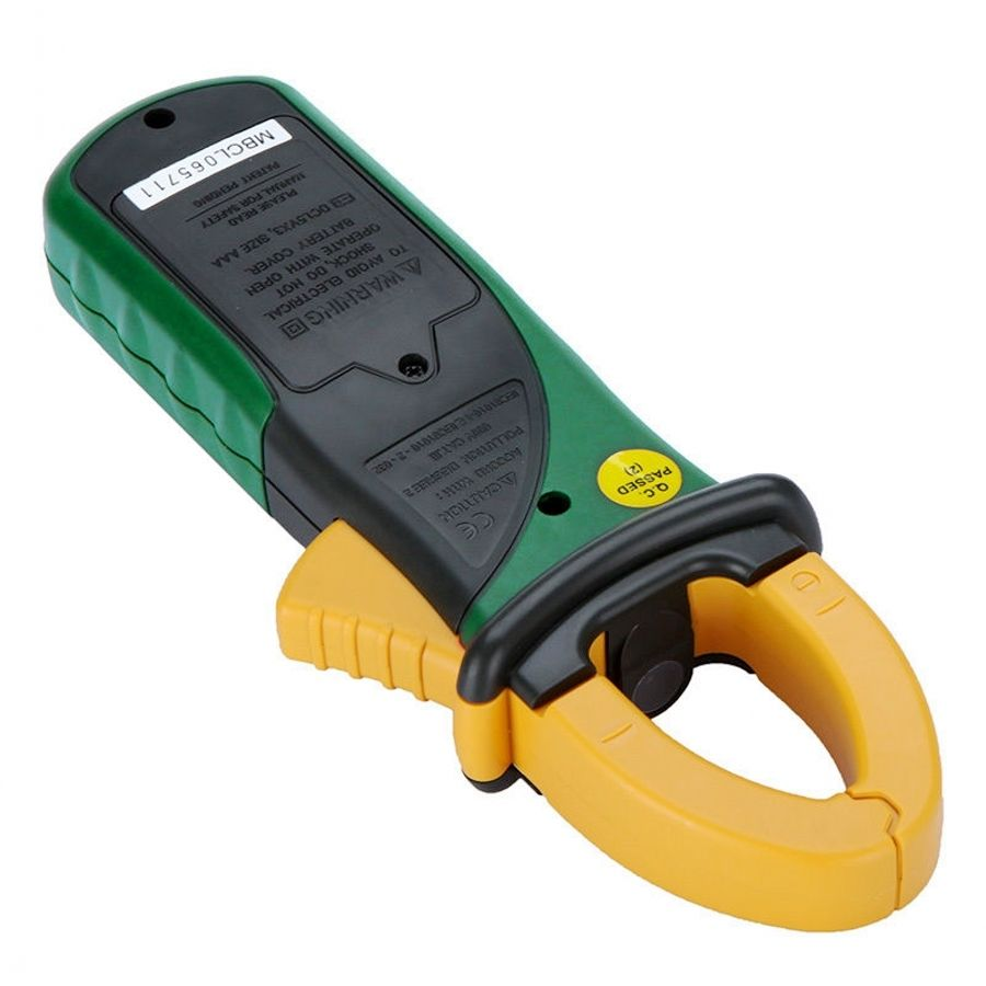 Ac Dc Current Clamp On Meter : New ms a digital clamp meter multimeter ac dc