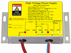 High voltage power supply design