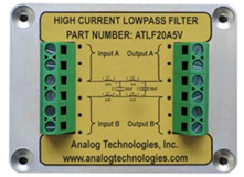 High Current Low Pass Filter