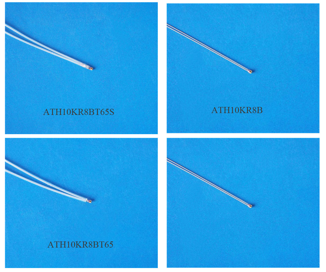 Ntc Thermistors Low Drift Assemblies How To Build A Simple Thermistor Circuit The Ath10kr8b Is High Precision Glass Encapsulated Comparing With Conventional Epoxy Presents Higher