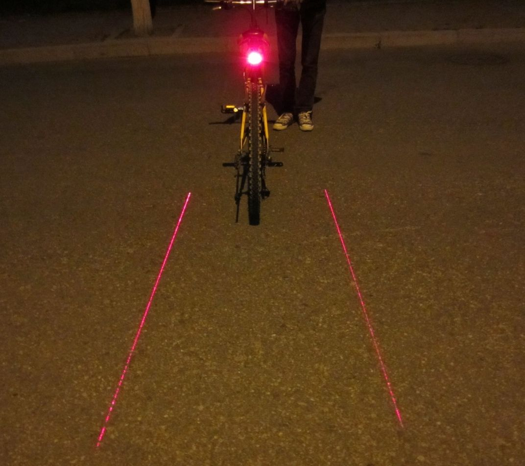 Bicycle Taillight Product Analog Technologies Inc Tail Light Flashing